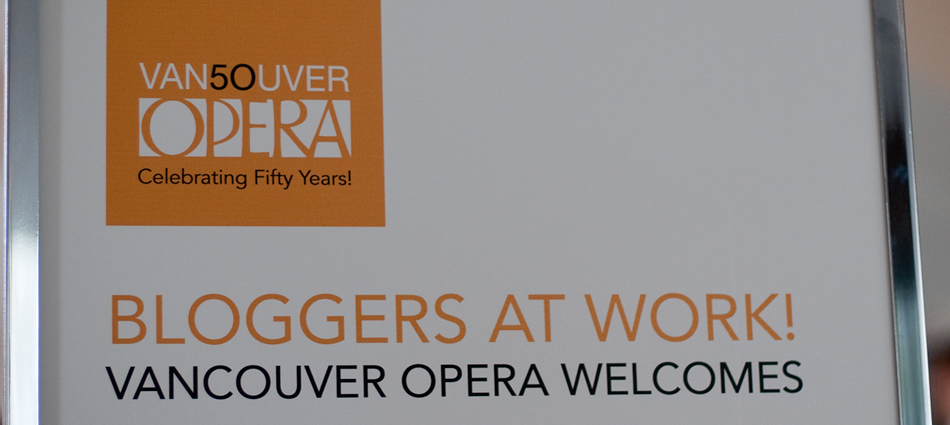 Figaro, Bloggers, and the Vancouver Opera